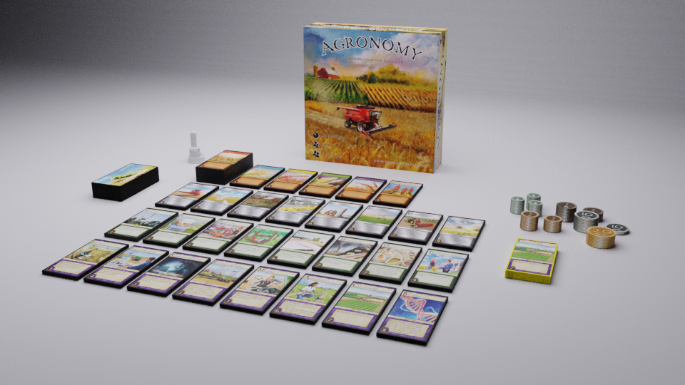 Agronomy box contents